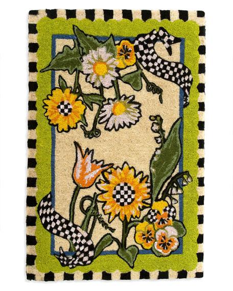 Sunflower Entrance Mat