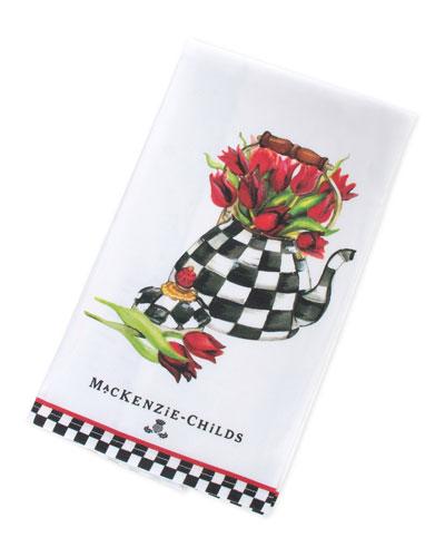 Tulip Tea Kettle Dish Towel