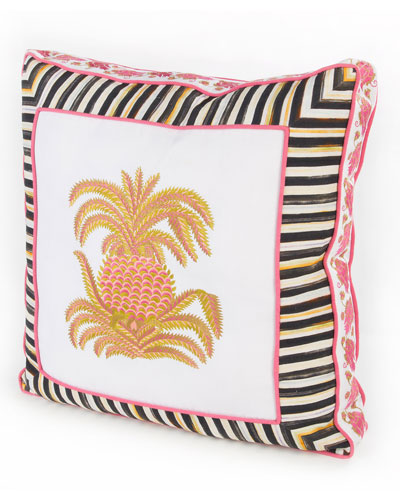 Palm Court Pillow