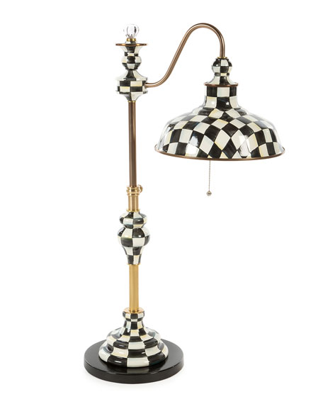 MacKenzie-Childs Courtly Farmhouse Writer's Lamp