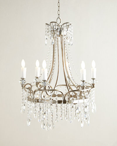 Neimanmarcus Katia 6-Light Crystal Chandelier