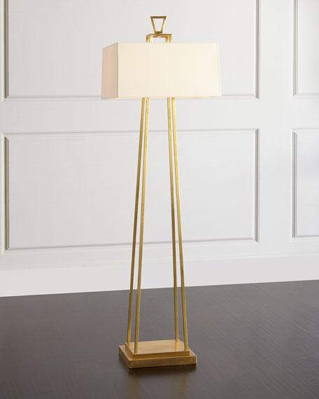 Visual Comfort Modern Darlana Bouillotte Floor Lamp