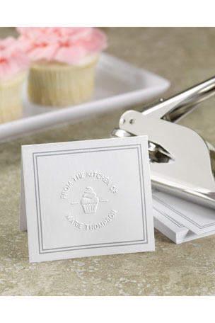 Oraton Rubber Stamps 100 Blank Cards