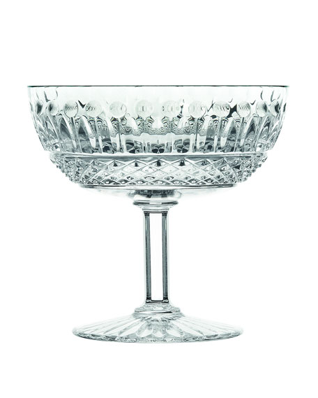 Saint Louis Crystal Tommy Footed Cup
