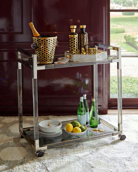 Jacques Smoke Bar Cart
