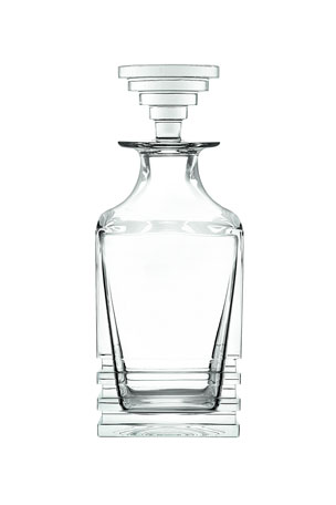 Saint Louis Crystal Oxymore Square Decanter