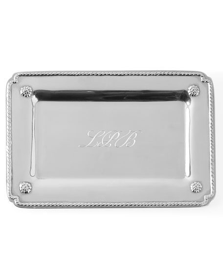 Berry & Thread Small Gift Tray with Monogram