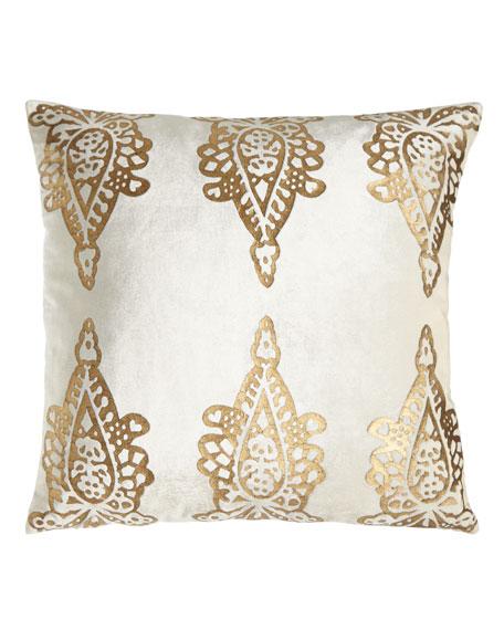 Khari Print Pillow, 20