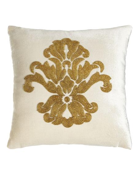 Khari Beaded Pillow, 12