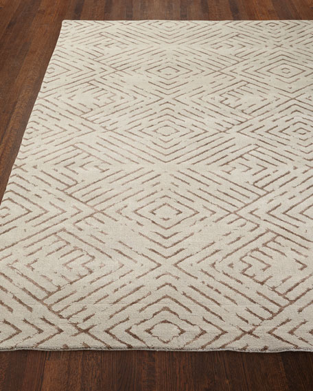 "Understated Luxe Rug, 3'6"" x 5'"