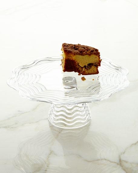 Godinger Capri Footed Cake Stand