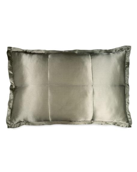 Donna Karan Home Standard Collection Quilted Silk Sham