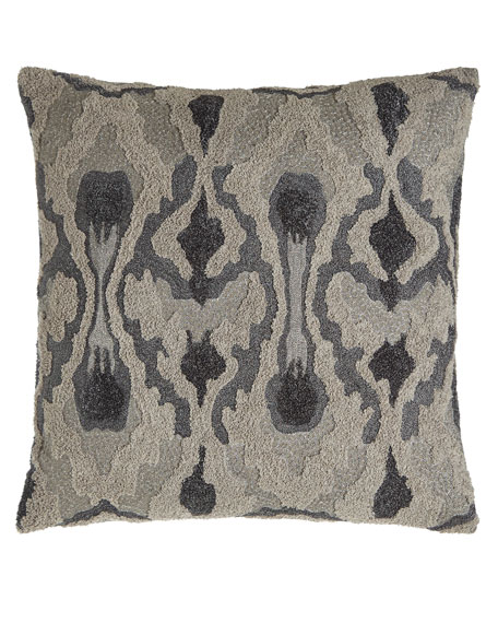 "Boucle Pillow, 18""Sq."