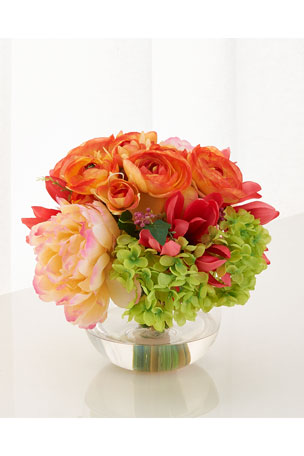 John-Richard Collection French Bouquet Faux-Floral Arrangement
