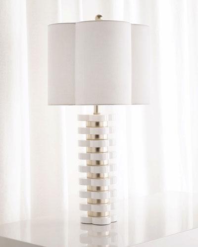 Neimanmarcus Quatrefoil Table Lamp
