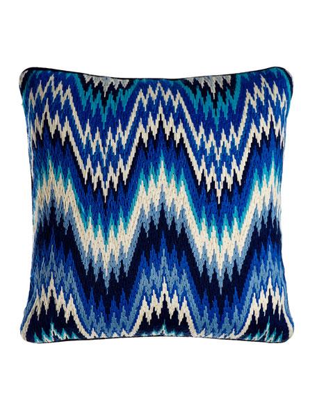 Bargello Worth Pillow