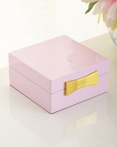 Pink Sqaure Jewelry Box