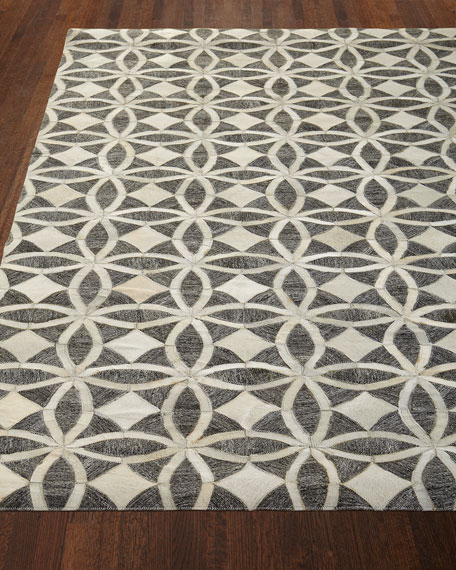 "Killian Hairhide Rug, 7'9"" x 9'9"""