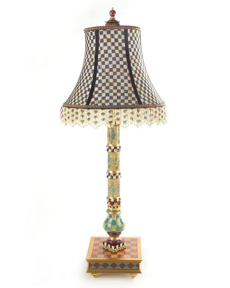 MacKenzie-Childs Highland Buffet Lamp