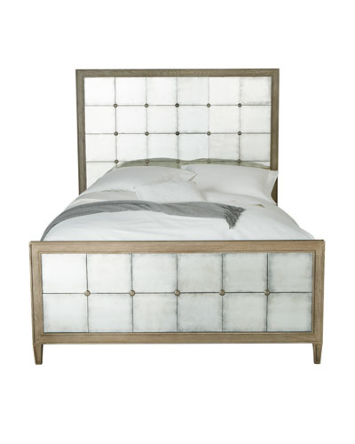 Bernhardt Marisala Mirrored Queen Bed
