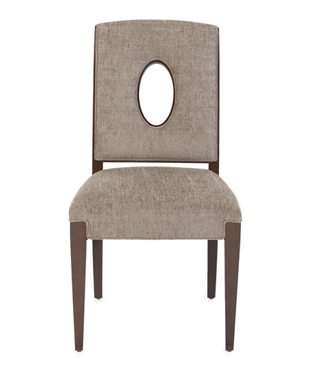 Davenport Side Chairs, Pair