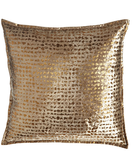 "Braedon Animal-Print Pillow, 18""Sq."