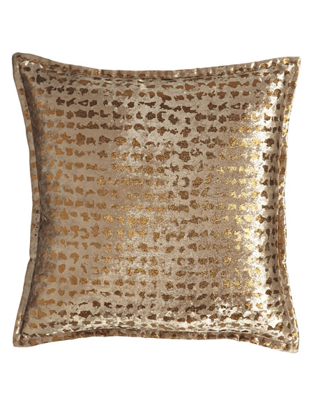 European Braedon Animal-Print Sham