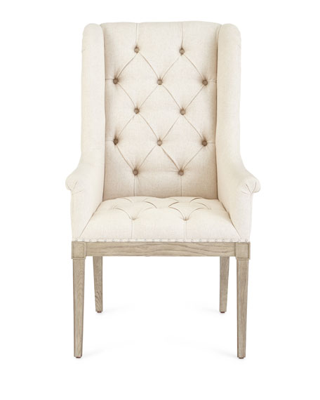 Bernhardt Gant Tufted Hostess Chair