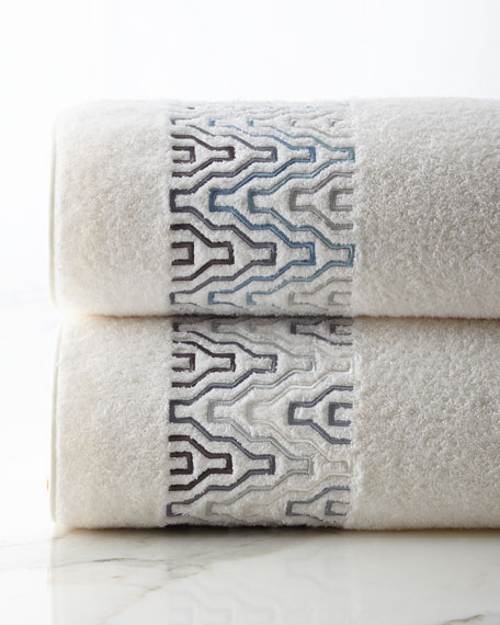 Flame Bath Towel