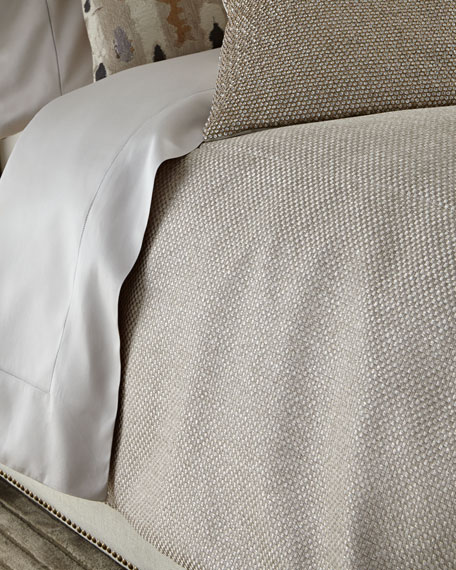 Fino Lino Linen & Lace Lokesh Bedding