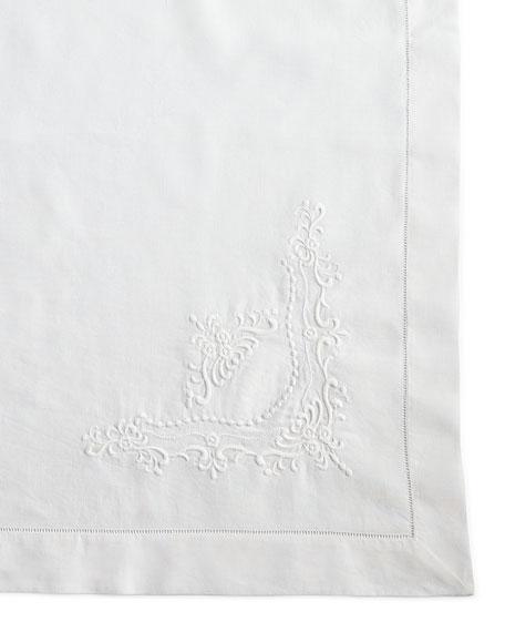 "Italian Crest Tablecloth, 68"" x 138"""