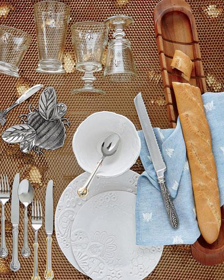 12-Piece Honeycomb Dinnerware Service
