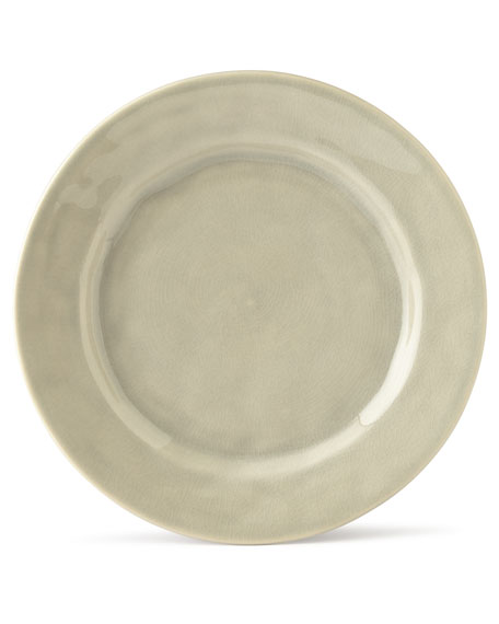 Puro Mist Grey Crackle Dessert/Salad Plate