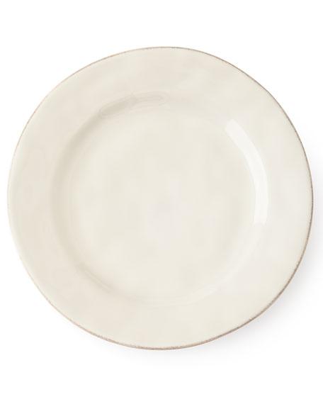 Juliska Puro Whitewash Dessert/Salad Plate