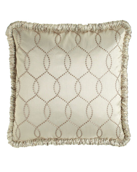 Dian Austin Couture Home European Cynthia Embroidered Sham