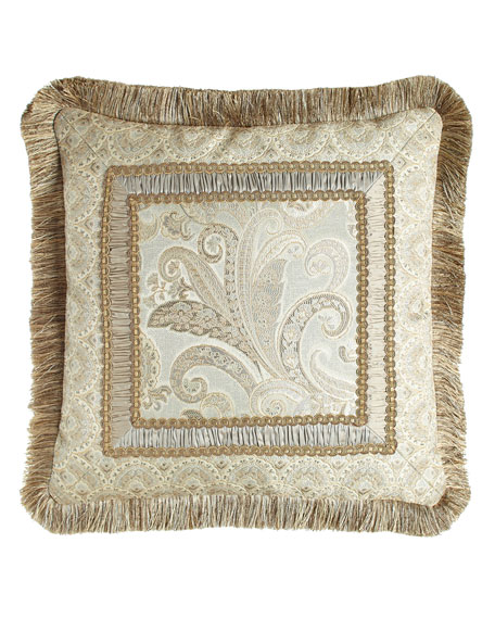Dian Austin Couture Home Cynthia Pillow with Fringe,