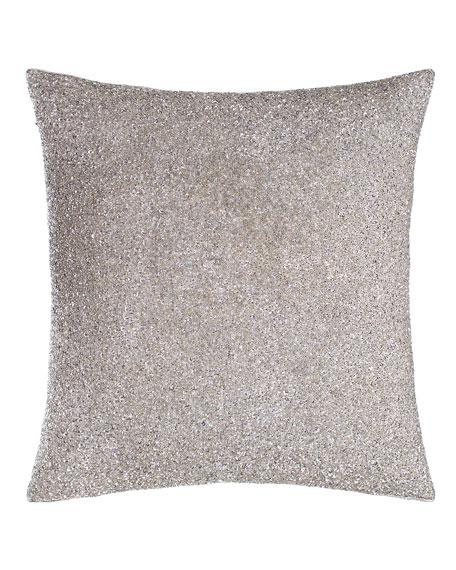 Palladium Beaded Pillow, 20