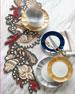Lapis Shell Table Runner