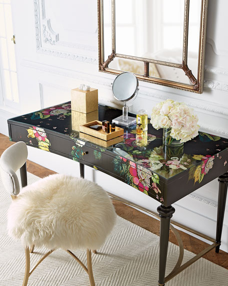 Cynthia Rowley Jewelry Organizer: Cynthia Rowley For Hooker Furniture Fleur De Glee Writing Desk