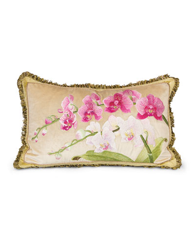 Orchid Pillow, 16