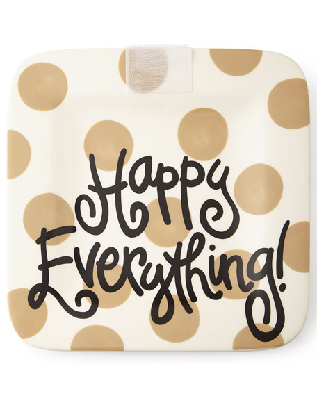 Happy Everything Neutral-Dot Mini Platter