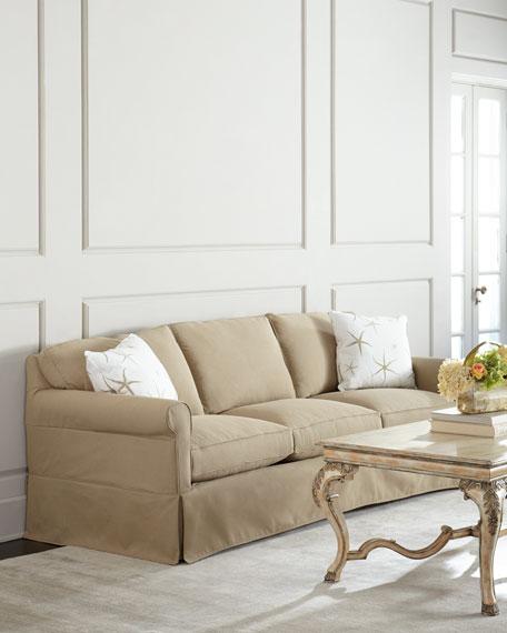 Sandstone Slipcover Sofa