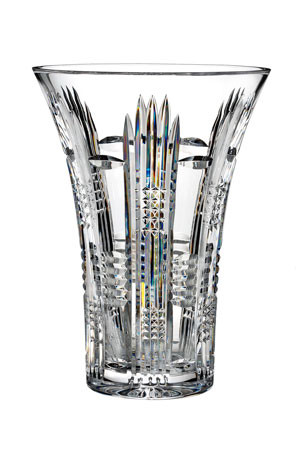 "Waterford Crystal Dungarven 10"" Vase"
