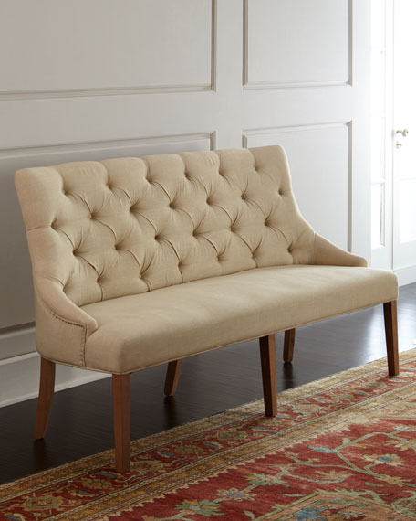 Julissa Tufted Banquette
