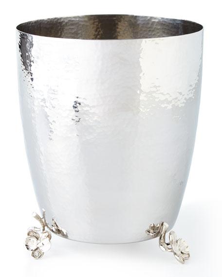 Michael Aram White Orchid Wastebasket