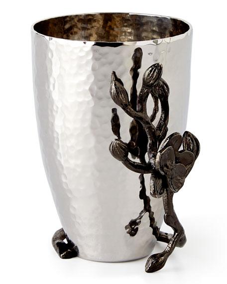 Black Orchid Bud Vase