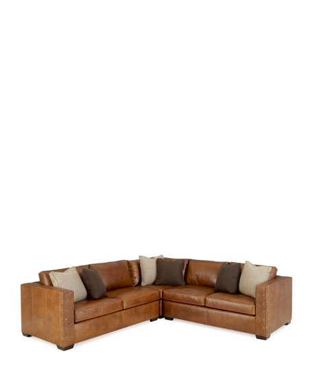 sc 1 st  Neiman Marcus : bernhardt sectional leather - Sectionals, Sofas & Couches