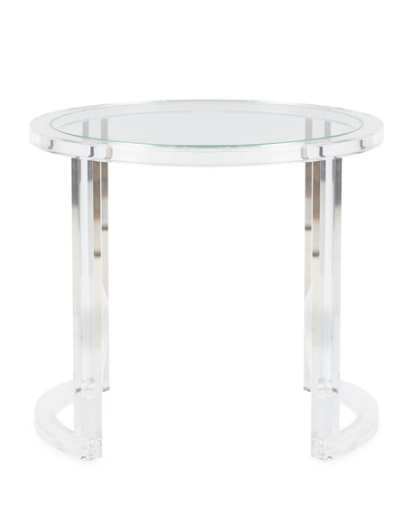 Abella Acrylic Entry Table