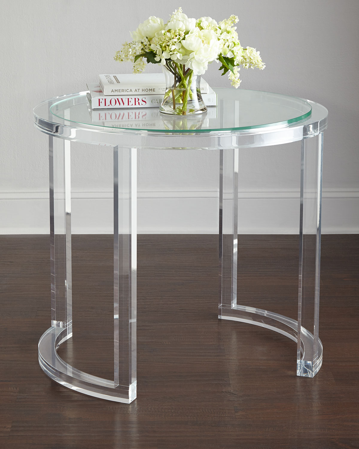Attrayant Abella Acrylic Entry Table