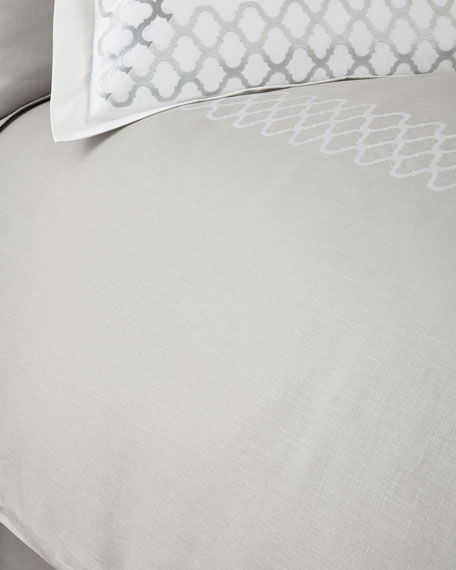 Queen Tangier Duvet Cover